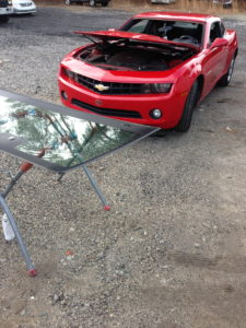 In the process of Auto Glass Repair